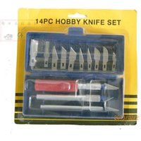 Wholesale Multifunctional sculpture knife set paper cutting tools engraving knife theutilityknife