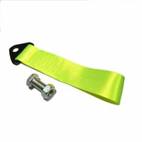 Wholesale tow strapTowing Rope High Strength Nylon Tow Eye Strap Tow Loop Strap Racing Drift Rally Emergency Tool cm t