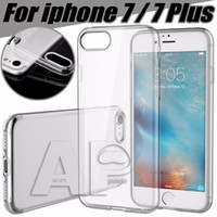 Wholesale IPhone7 TPU Case For Iphone Plus S Plus Clear TPU MM Ultra Thin Samsung Galaxy S7 Back Cover Soft Case Cover