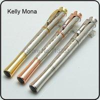 Wholesale Luxus MB pen Grace de Monaco roller ball pen office supplies monte pen with crystal on clip luxury writing pens