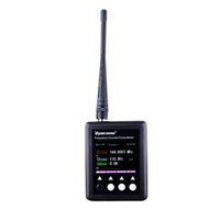 Wholesale New Surecom Frequency Meter Sf401 Plus Frequency Counter mhz mhz Radio Black Mini Size With Ctccss Dcs Decoder