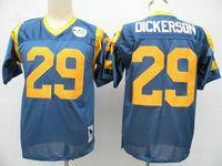 Wholesale New cheap retro jerseys Elite Football jerseys St louis National football shirt Men s Eric Dickerson Warner Jack Youngbloo