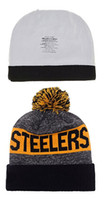 best sun cream - STEELERS Football Beanies Team Hat Winter Caps Popular Beanie Caps Skull Caps Best Quality Women Men Warm Sports Caps Allow Mix Order