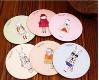 Wholesale Lovely cartoon small mirror cosmetic mirror gift Can be customized