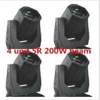 Wholesale 4 units new Professional w R moving head beam stage party disco KTV bar light sharpy DMX Channels carton package