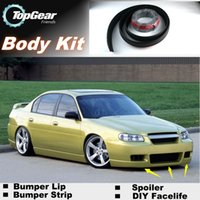 Wholesale For Chevrolet Classic Bumper Lip Lips Front Skirt Deflector Spoiler For Car Tuning The Stig Recommend Body Kit Strip