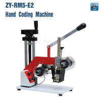 batch code printing - ZY RM5 E Color Ribbon Hot Printing Machine date code ribbon printer Hot foil stamping machine batch number foil embossor