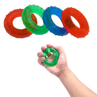 Wholesale KG Strength Hand Grip Muscle Power Training Rubber Easy Carrier Hand Grips Fitness Rubber Ring Exerciser Expander Gripper