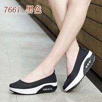 best nursing shoes - 2016 Best gift Korean Air shook women shoe platform shoes women shoes casual shoes Square lady nurse shoes