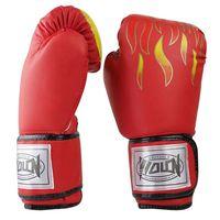 Wholesale Martial arts gloves Pair gloves high quality Kickboxing Kick fighting Box Training Punching Sandbag Boxing Gloves