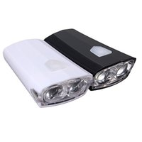 Wholesale Lights For Track Bikes - Torch Ultra Bright USB Rechargeable 15 Lumens Front Bike Bicycle Light LA4266 Perfect For Night Cycling order<$18no track