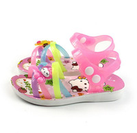 Wholesale summer sandals shoes for kids children lovely Korean style shoes pieces factory direct sale