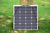 Wholesale Solar panel w semi flexible panel solar provide for v battery with flexible high efficiency USA solar cell solar module
