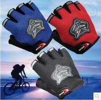 Wholesale Sports Gym Glove Fitness Training Exercise Body Building Workout Weight Lifting Gloves Half Finger Gloves Fingerless Glove CCA4888 pair