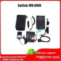 Wholesale Satlink WS DVB S FTA Digital Satellite Finder Meter TV Signal Receiver satlink ws6906 ws digital finder For setting