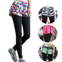 Wholesale Camouflage Zig Zag Short Pants Print Suitable Breathable Mid Waist Super Stretch Sweat Releasing Womens Yoga Pants