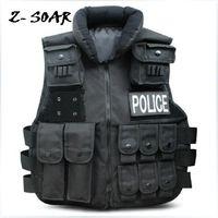 Wholesale Ultimate Arms Gear Stealth Tactical Law Enforcement Raid Entry Assault Utility Vest Black