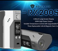 Wholesale Wismec Reuleaux RX200S Mod improved inch OLED Screen Wismec RX200S RX200W Mod with Upgradeable Firmware RX200S Mod Orginal
