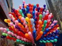 Wholesale NEW Screwed Latex Twisting Spiral Balloons Conventional Festival Balloons Wedding Party Holiday Decoration