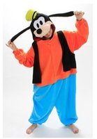 adult goofy costumes - Hot Adults Costumes Anime Goofy Onesie Cute Goofy Dog Pajamas Cosplay Sleepwear Costumes For Unisex