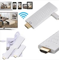 Wholesale 50pcs Ezcast TV Stick dongle Support Airplay Miracast DLNA HDMI P Wifi Display HDTV Receiver For apple samsung tv mac