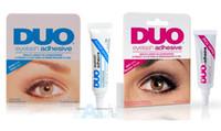 adhesive products - DUO WATER PROOF FALSE EYELASH ADHESIVE EYELASH GLUE Dark White Make Up Product