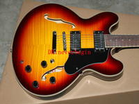 Wholesale new Sunburst Jazz Guitar New Arrival OEM guitars Best selling hot