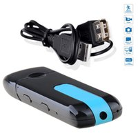 Wholesale Hot Mini DVR U8 USB Disk HD Hidden Spy Pinhole Camera Detector Video Recorder
