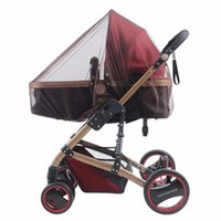 Wholesale Cart Mosquito Net Baby Stroller Pushchair Mosquito Insect Shield Net Safe Infants Protection Mesh Stroller Accessories Mosquito Net