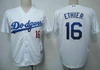 apparel for kids - Dodgers Andre Ethier Kids White Baseball Jersey Coolest Fan Apparel for Childen Cheap Sports Jerseys Top Selling Jersey Store