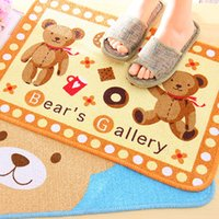 Wholesale New Arrival Cotton Machine Made Embroidered Kilim Cartoon Living Room Adults Finished Carpet piece Mat