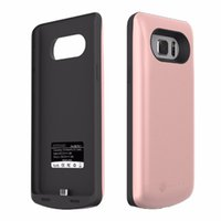 battery case for mobile phone - Portable external backup battery cases power pank charger mobile phone back cover mAh with stand holder for samsung galaxy Note7 note