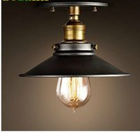 Wholesale American Style Copper Lamps Ceiling Light Personality Simple Country Balcony Lamp Home Lighting Corridor