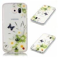 Wholesale Skull Galaxy Note Cases - For LG K10 K7 K8 K4 Galaxy Note7 S5 S6 Edge Pikachu Poke Dolphin Butterfly Flower Soft TPU IMD Case Skull Note 7 Blossom Doughnut Gel Cover
