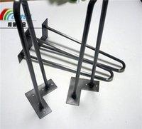 bench coats - Free Ships within hrs Hairpin Leg Table Leg Bench Leg Metal Leg U Leg with inch rods clear coating