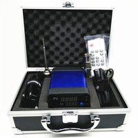Kit de seguridad electrónica DNail E uñas Dab calentador de bobina de 16 mm Dnail Dab Dabber Herramientas 6-en-1 de titanio uñas de silicona Mat Contenedores