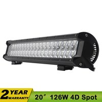 bar spot lights - 20 Inch W LED Work Driving Light Bar CREE Spot Flood Combo V V LED Light Bar WD For JEEP SUV ATV W W W