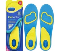 hair gel - Scholl Gel Activ Work Insoles pads for Men Women Soft silicone damping insole Foot Care Soft Silicone Damping Insole Shade Everyday