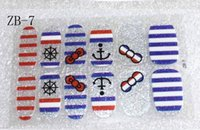 auto beauty products - Sexy Beauty Product d Toe Nail Art Decorations Foil Stickers England Flag Stones adesivo de unha Auto Adhesive Decals