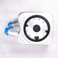 aluminum gaskets - Engine Oil Cooler Sealing Ring Gasket For VW Bora Jetta MK4 Passat B5 Golf MK4 MK5 Beetle A4 TT B B