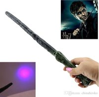 Unisex Big Kids Plastic HOT Harry Potter LED Magic Wand Halloween Props Lights Sound Sticks Party Cosplay Costume Accessory LED Light Sticks Free DHL FedEx