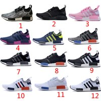 Wholesale Hot Perfect Quality NMD Runner Primeknit Boost shoes mens Athletic Running sneaker Shoes discount Running shoes