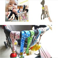 baby bottle strap - Lemommom stroller toys Bind belt Baby toys Strollers Accessories Sophie pure cotton Lemommom Toy Saver Sippy Cup Baby Bottle Strap LC331