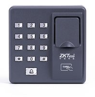 apartment door lock - Fingerprint standalone access control apartment door access control zk X7 zksoftwarepower supply magnetic lock exit button