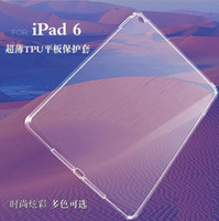 Wholesale clear transparent TPU protective cases for ipad3 ipad mini low price