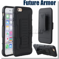 belt fittings - For Note Case Iphone Case Hybrid Robot Case Armor Impact Case For Zmax Pro Z981 Coolpad With Belt Clip Holster Kickstand Combo Case