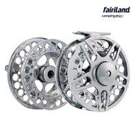 aluminium spool - 10set Fly fishing reel set mm mm mm mm fly reel with original spare spool BB machined aluminium fishing combo fishing gear