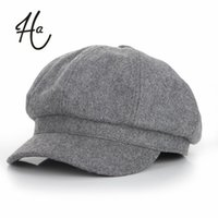 artist red - Super warm High Quality Fashion Artist Wool Women Beret Hat For Women Cap Female Cap Casual Dome Bare Chapeu Feminino Boina