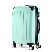 Wholesale NEW quot quot quot color large capacity can be expanded Scrub ABS rolling luggage sets travel suitcase trolley bags travel case suitcases