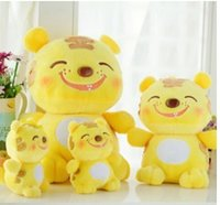 baby monkey items - Lovely smiling tiger plush toys little tiger baby doll creative toy doll doll birthday gift items